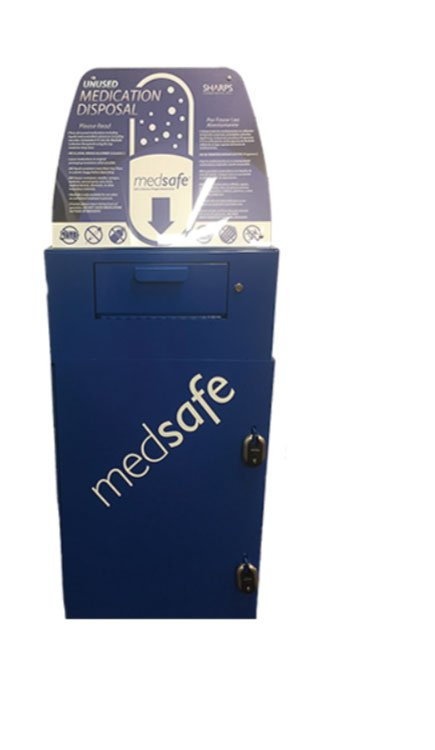 MedSafe Medication Disposal Box Image