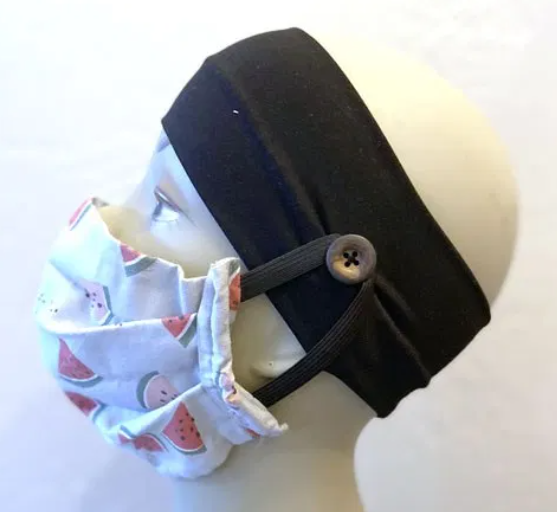 Headband with Buttons
