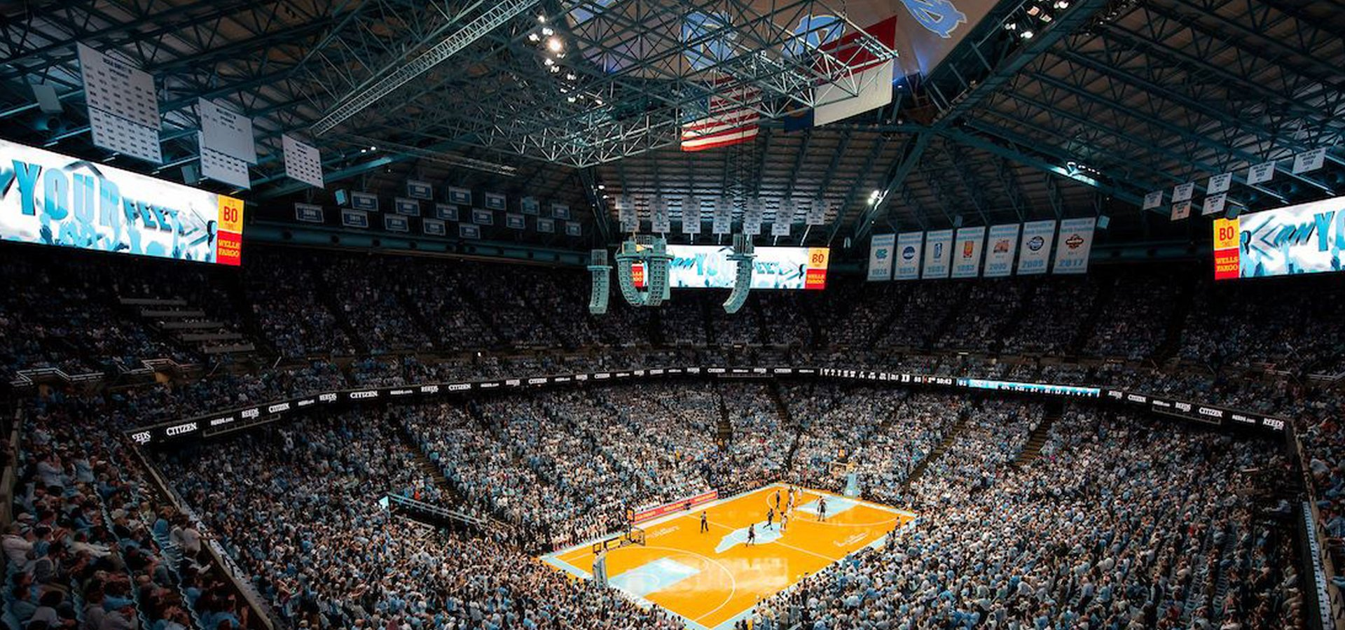UNC basketball arena