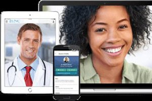 UNC Urgent Care 24/7 site displayed on a phone, tablet, and laptop